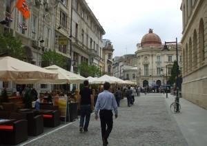 Бухарест старый город