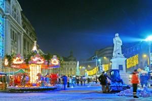 Рождество в Бухаресте