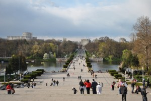 Парк в Бухаресте