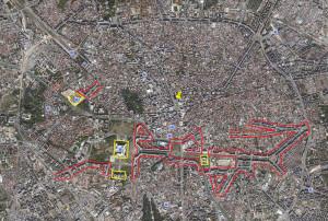 Бульвар Объединения на карте