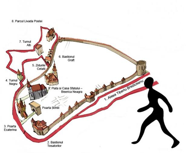 Крепость в Брашове