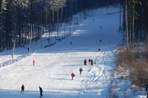 Лыжный спуск Бэиле Тушнад
